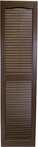 USA Exterior Custom Open Louver Cathedral Top