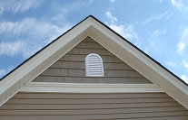 Round Top Gable Vent 15