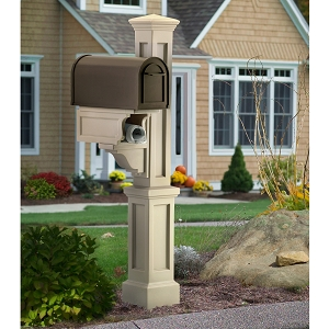 Rockport Single Mailbox Post