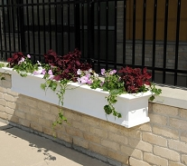 Yorkshire 7FT Window Box Planter - White