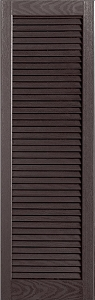 USA Exterior Full Open Louver Straight Top