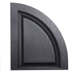 USA Exterior Raised Panel Arch Top