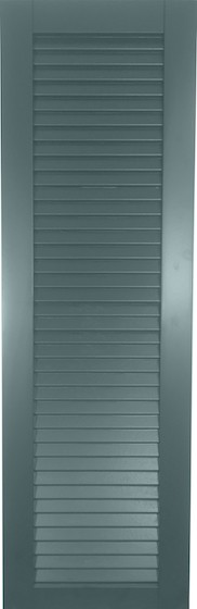 USA Exterior Wood Composite Full Faux Louver