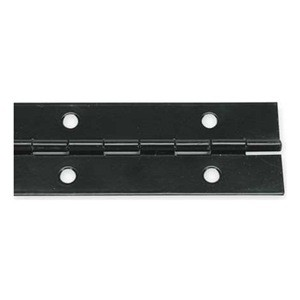 Piano Hinge Black Anodized